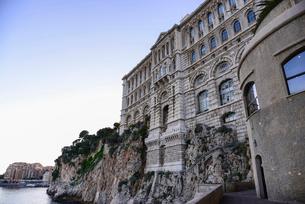 モナコ海洋博物館の写真素材 [FYI02686858]