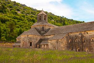 ノートルダム・ド・セナンク修道院 ヴォクリューズ・ゴルド フランスの写真素材 [FYI02686872]