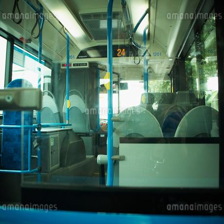 バスの車内 フィンランドの写真素材 [FYI02687116]