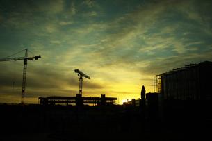 ヘルシンキの夕暮れ フィンランドの写真素材 [FYI02687127]
