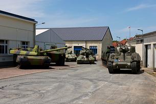 ソミュール戦車博物館の写真素材 [FYI02687151]