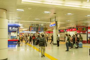 成田空港第2ビル駅の写真素材 [FYI02687216]