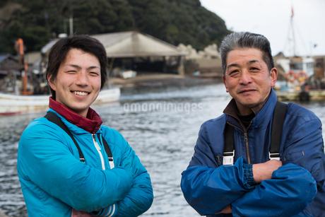 作業する漁師の写真素材 [FYI02687395]