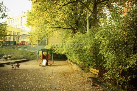 秋の公園の写真素材 [FYI02687491]