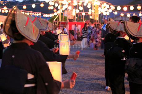 松島流灯会海の盆 宮城県の写真素材 [FYI02687637]