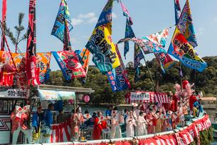 大瀬祭りの写真素材 [FYI02688350]