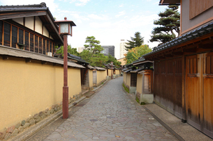 長町武家屋敷通り 石川県の写真素材 [FYI02688651]