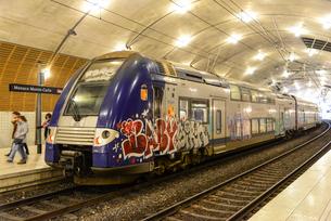 モンテカルロ駅の写真素材 [FYI02688811]