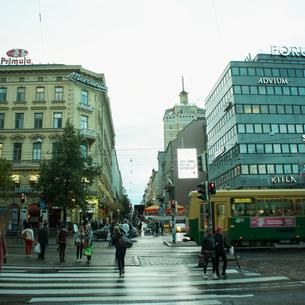 ヘルシンキの街並み フィンランドの写真素材 [FYI02688880]