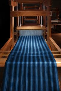 真岡木綿の機織りの写真素材 [FYI02688908]