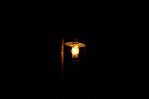 ランプの明かりの写真素材 [FYI02688926]
