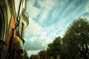 ポルヴォー旧市街 フィンランドの写真素材 [FYI02689034]
