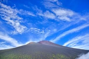 富士山と宝永山の写真素材 [FYI02689326]