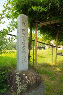 青山古戦場跡の碑の写真素材 [FYI02689387]