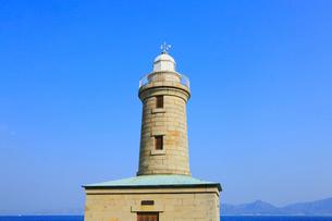 男木島灯台の写真素材 [FYI02689426]