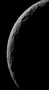 Saturn's moon Tethysの写真素材 [FYI02689639]