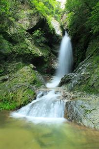 虹の滝(雌滝)の写真素材 [FYI02689712]