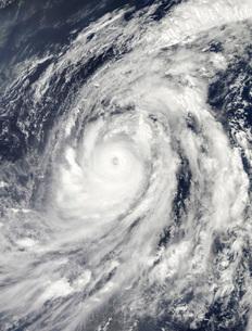 Typhoon Lupitの写真素材 [FYI02689808]