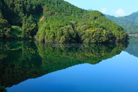 黒瀬湖(黒瀬ダム湖)の写真素材 [FYI02689871]