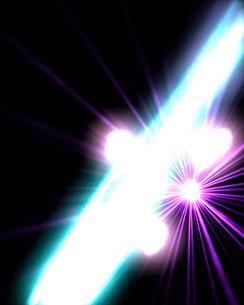 Gamma Rays in Galactic Nucleiの写真素材 [FYI02689925]