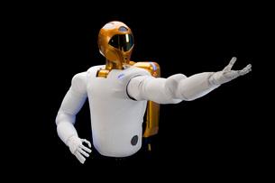 Robonaut 2, a dexterous, humanoid astronaut helper.の写真素材 [FYI02690262]