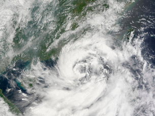 Tropical Storm Kammuriの写真素材 [FYI02690311]