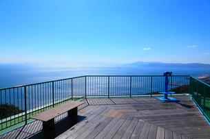 鉢伏山展望台から大阪湾を望むの写真素材 [FYI02690443]