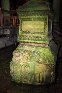 地下宮殿 メデューサの首の写真素材 [FYI02690476]