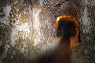 カッパドキヤ デリンクユの地下都市の写真素材 [FYI02690592]