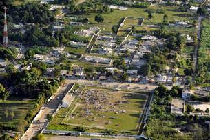 Aerial view of Port-au-Prince, Haiti.の写真素材 [FYI02690909]