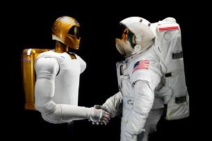 Robonaut 2, a dexterous, humanoid astronaut helper.の写真素材 [FYI02691004]