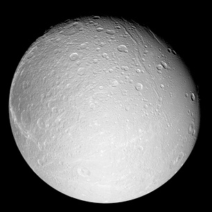 Saturn's moon Dioneの写真素材 [FYI02691263]