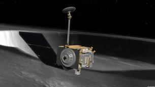 Artist Concept of the Lunar Reconnaissance Orbiterの写真素材 [FYI02691808]