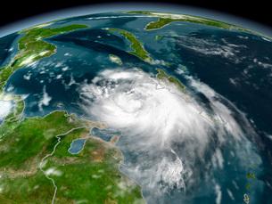 Tropical Storm Dennisの写真素材 [FYI02691860]