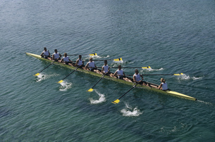Team of rowersの写真素材 [FYI02692137]