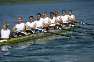 Team of rowersの写真素材 [FYI02692193]
