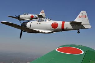 Aircraft from the Tora, Tora, Tora demonstration team.の写真素材 [FYI02692303]