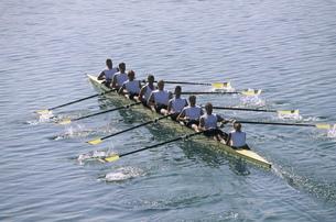 Team of rowersの写真素材 [FYI02693529]