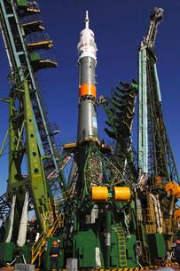 The Soyuz TMA-6 vehicleの写真素材 [FYI02693883]