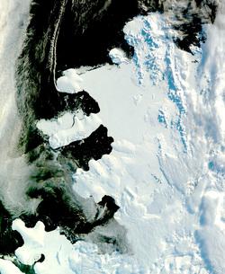 Wilkins Sound, Antarcticaの写真素材 [FYI02693905]