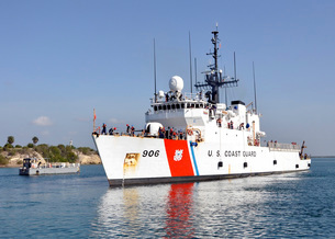 U.S. Coast Guard cutter USCGC Seneca.の写真素材 [FYI02694092]