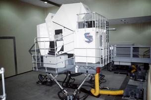 Exterior view of the B-52 Stratofortress flight simulator.の写真素材 [FYI02694359]