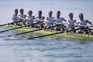 Team of rowersの写真素材 [FYI02694479]