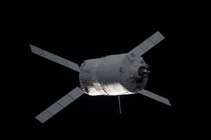 The Edoardo Amaldi Automated Transfer Vehicle-3 resupply spacecraft.の写真素材 [FYI02694862]