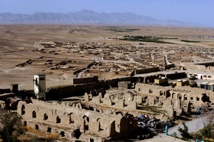Remains of Alexander the Great's Castle in Qalat City, Afghaの写真素材 [FYI02695248]