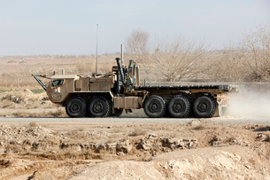 A Logistics Vehicle System Replacement in Afghanistan.の写真素材 [FYI02696122]