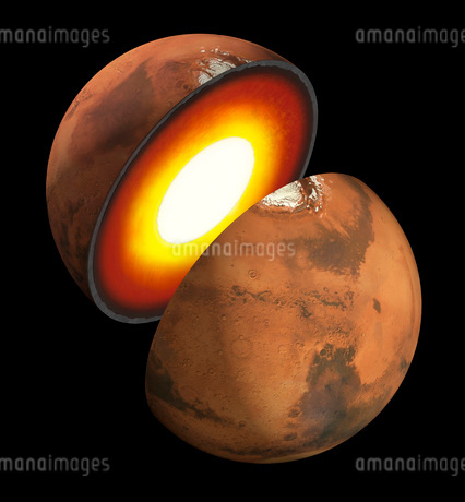 Artist's concept of the formation of rocky bodies in the solar system.のイラスト素材 [FYI02696204]