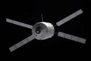 The Edoardo Amaldi Automated Transfer Vehicle-3 resupply spacecraft.の写真素材 [FYI02696649]