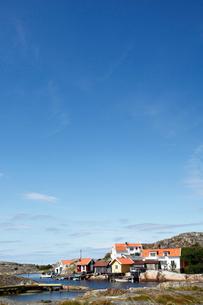 Sweden, Bohuslan, Tjorn, View of human settlementの写真素材 [FYI02699610]
