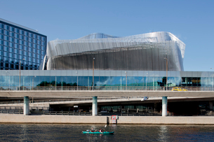Sweden, Stockholm, Congress centre at waterfrontの写真素材 [FYI02700654]